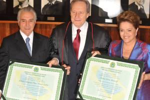Dilma e Temer são Diplomados Presidente e Vice