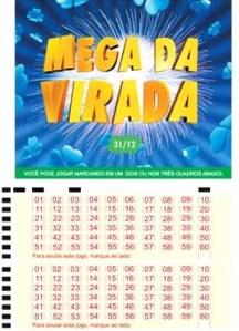 Mega-Sena da Virada deve Pagar R$ 180 mi