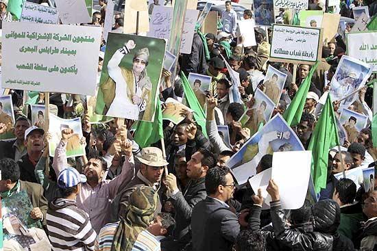 Al Qaeda Anuncia Apoio aos Manifestantes na Líbia