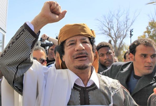 Kadaf Avança sobre os Rebeldes