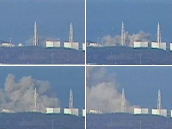 Usina Nuclear Explodindo no Japão