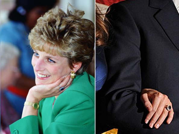 Anel de noivado dado a Kate pertenceu a princesa Diana