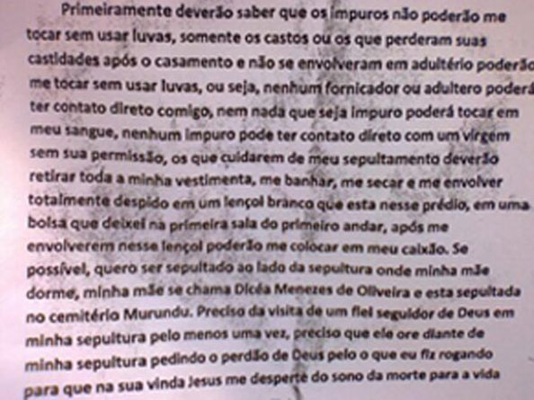 Carta do Atirador Wellington Menezes - 1