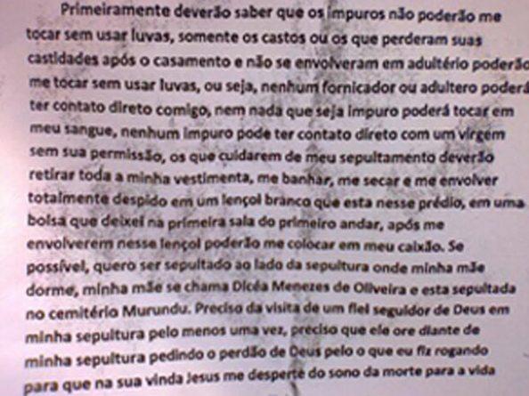 Carta do Atirador Wellington Menezes - 1