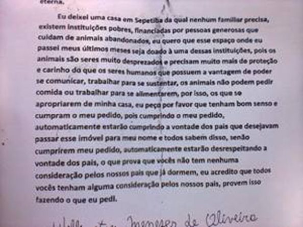 Carta do Atirador Wellington Menezes - 2