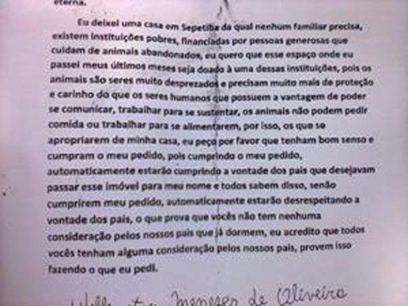Carta do Atirador Wellington Menezes - 2