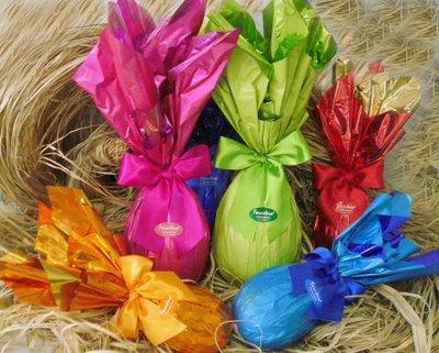 Ovos de Chocolate da Páscoa